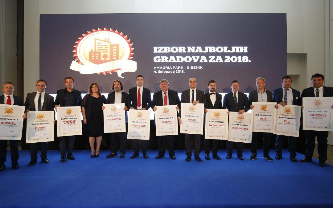 Ovo su najbolji gradovi u Hrvatskoj!