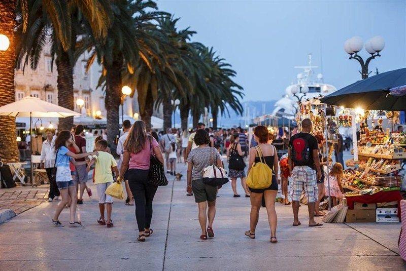 Trogir: U devet mjeseci pet posto više dolazaka turista