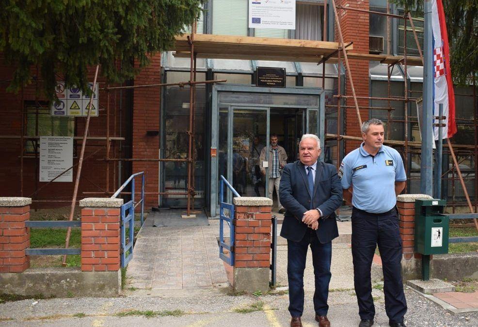 Petrinja: 2,5 milijuna kuna za obnovu Policijske postaje