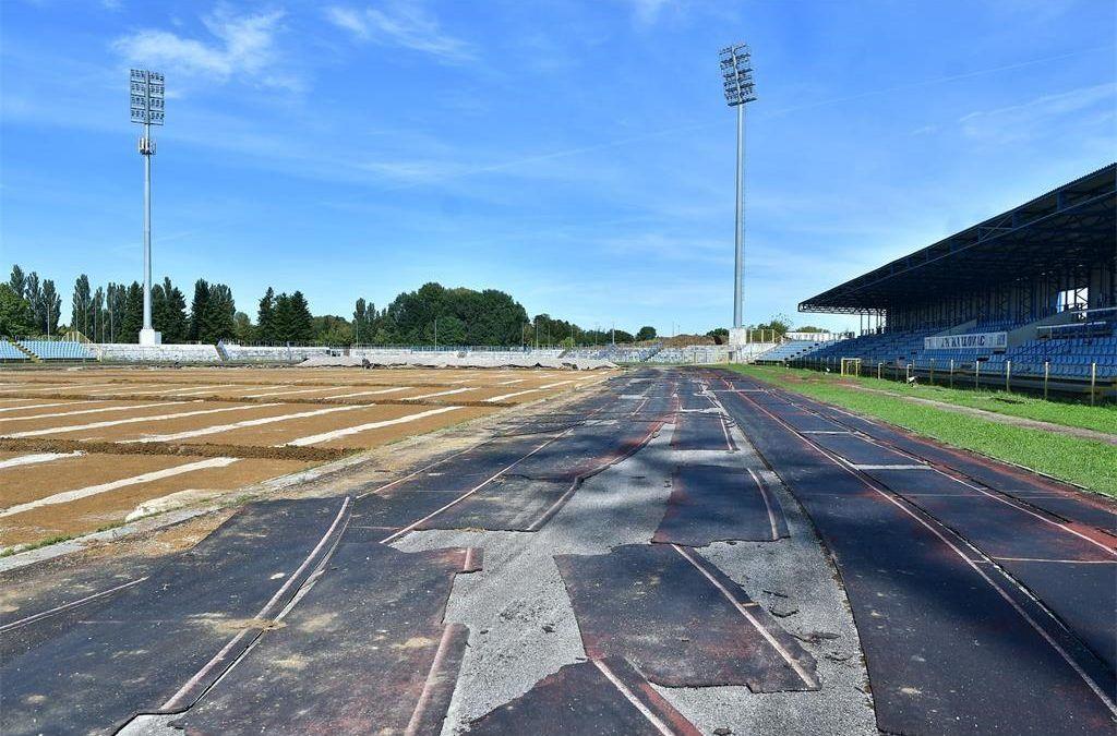 Karlovac: U tijeku rekonstrukcija atletske staze vrijedna 5 milijuna kuna