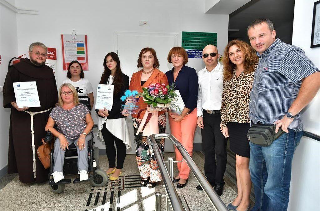 Karlovac: Domu zdravlja nagrada Plavi cvijet pristupačnosti