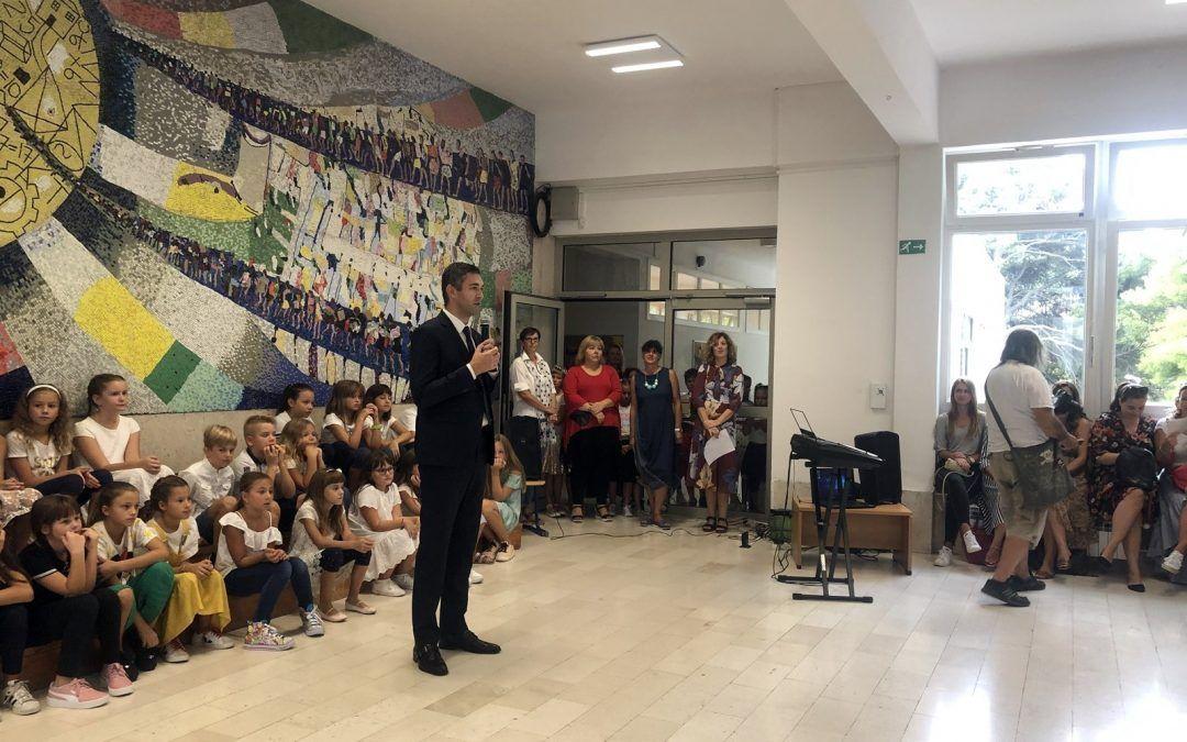 Dubrovnik: U posljednjih godinu dana u škole uloženo preko 100 milijuna kuna, ove godine 117 učenika više nego lani