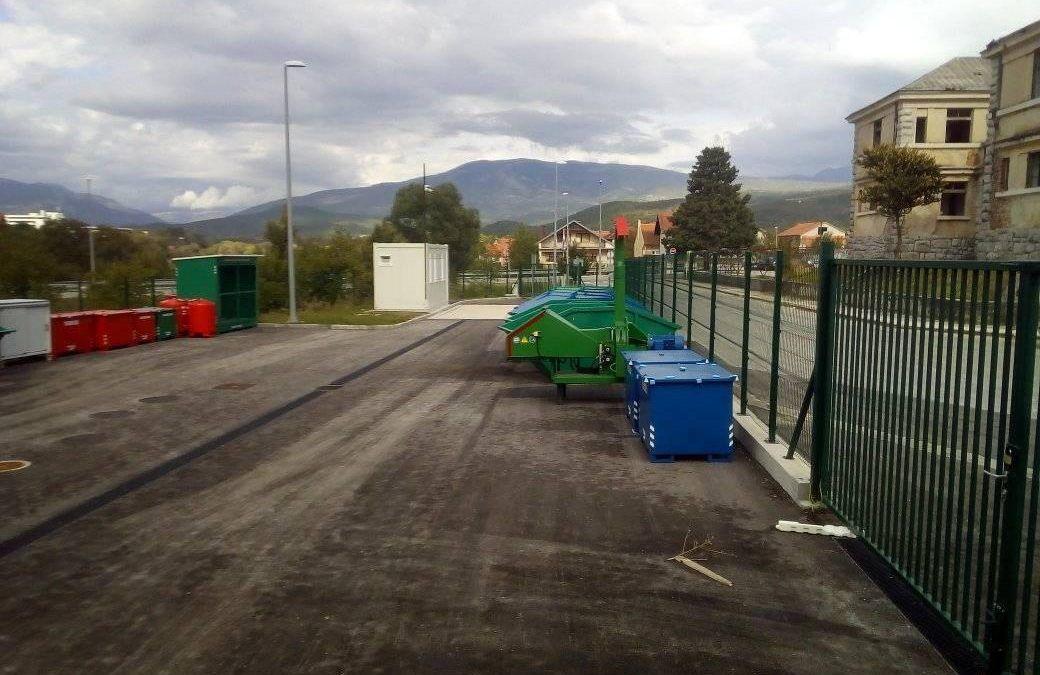 U Kninu otvoreno reciklažno dvorište vrijedno 2,8 milijuna kuna