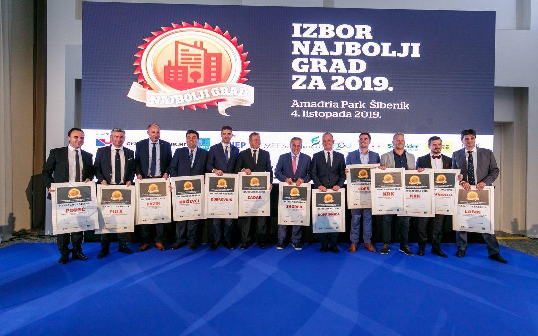 Najbolji grad 2019.: Najbolje se živi u Zagrebu, Poreču i Krku!