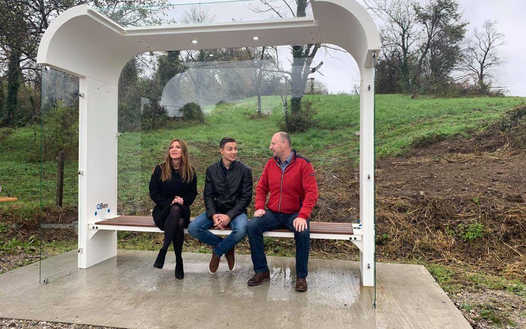 Zlatar: Otvorena prva solarna autobusna stanica