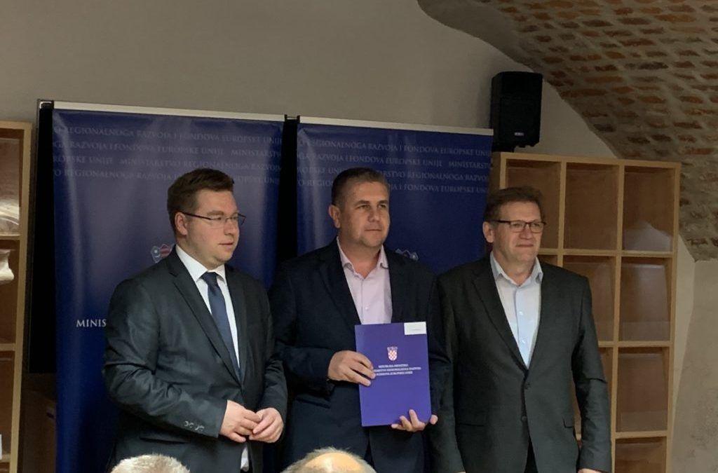 Đurđevac: Tri i pol milijuna kuna bespovratnih sredstava za tri projekta