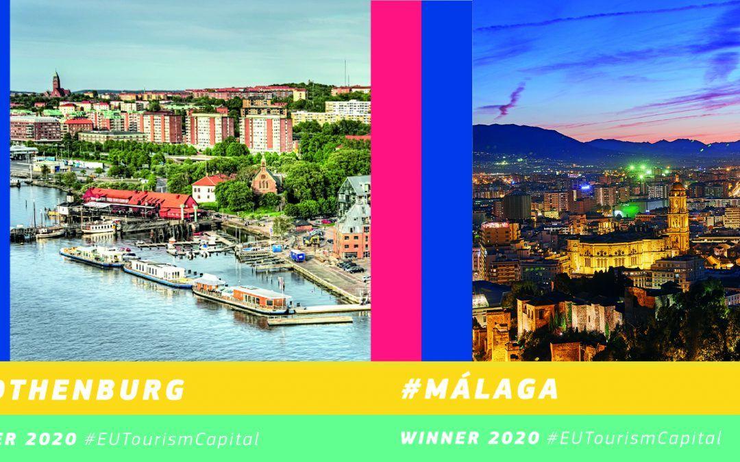 Göteborg i Malaga – Europske prijestolnice pametnog turizma 2020.