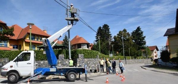 Sveti Ivan Zelina: Javna rasvjeta zamjenjuje se LED svjetiljkama, investicija će se vratiti iz uštede energije