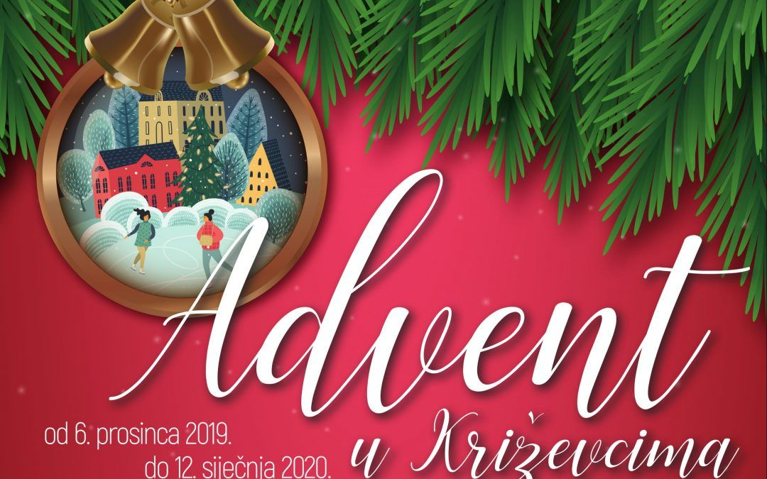Križevci: Advent donosi klizalište, mnogobrojne koncerte i zabavu za najmlađe