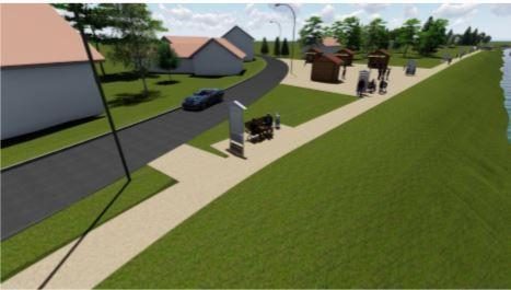 Ludbreg: Počela gradnja šetnice uz rijeku Bednju vrijedna više od pola milijuna kuna
