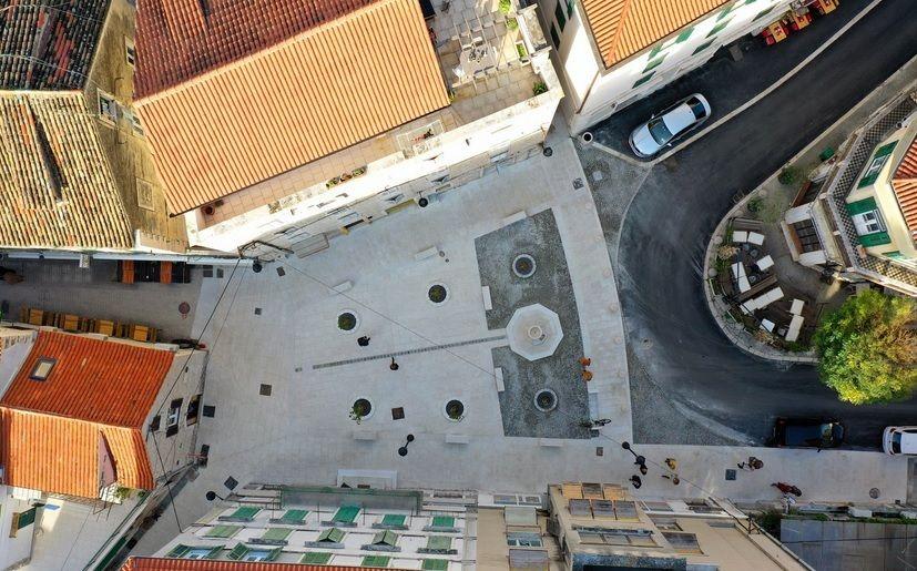 Split: Nakon dva mjeseca završili radovi na gradskom trgu u Šperunu vrijedni 1,6 milijun kuna