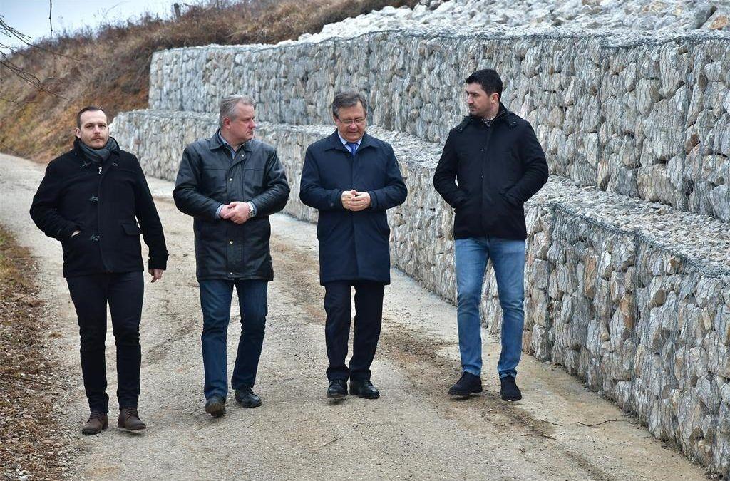 Karlovac: Sanirano klizište, ove godine osigurano 5 milijuna kuna za sanacije