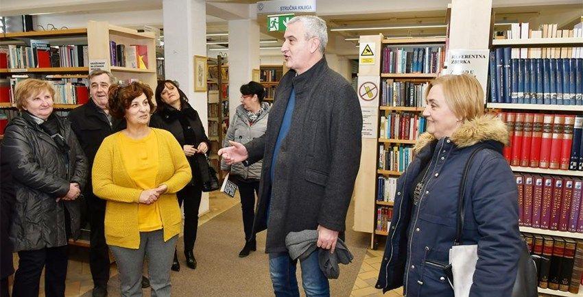Karlovac: Energetski obnovljena Gradska knjižnica, emisija CO2 smanjena za gotovo 100 posto