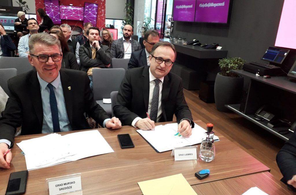 Ludbreg i okolica dobit će pristup brzom internetu u projektu vrijednom preko 35 milijuna kuna