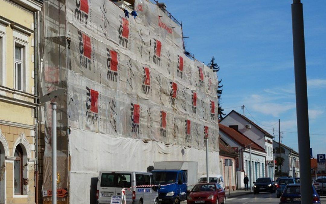 Požega: Do proljeća će biti obnovljena zgrada Gradske knjižnice