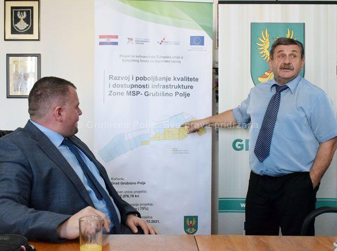 Grubišno Polje: Ugovorena izgradnja zajedničke infrastrukture u Zoni malog i srednjeg poduzetništva vrijedna oko 13 milijuna kuna