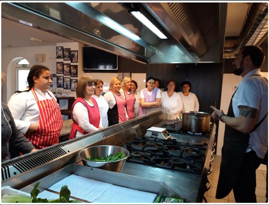 Labin: Započele gastro radionice za kuharsko osoblje osnovnih škola i vrtića