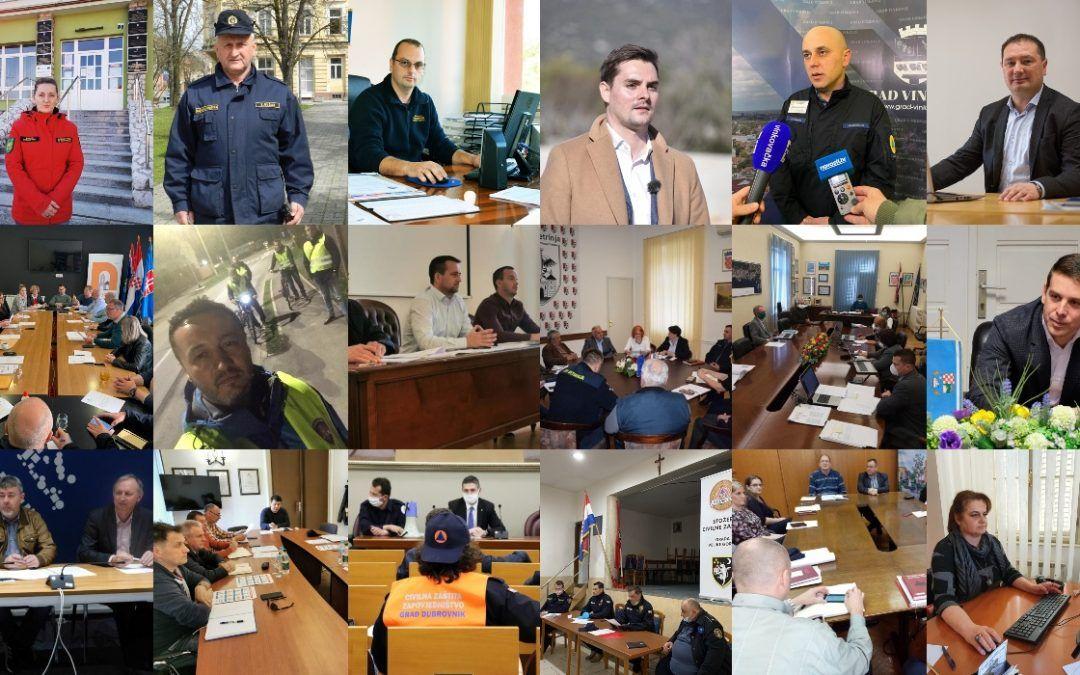 Ovo su ljudi s prve crte bojišnice protiv korone: Provjerili smo kako funkcioniraju i rade gradski Stožeri civilne zaštite….