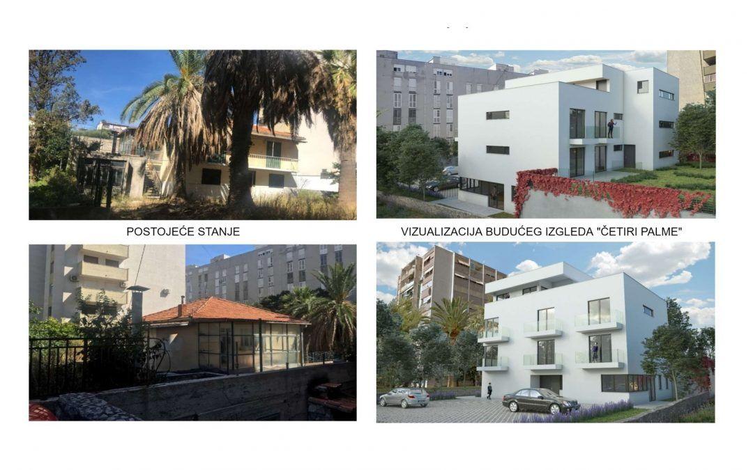 Split: Projekt »Četiri palme« korak do bespovratnih sredstava, objavljena javna nabava za radove