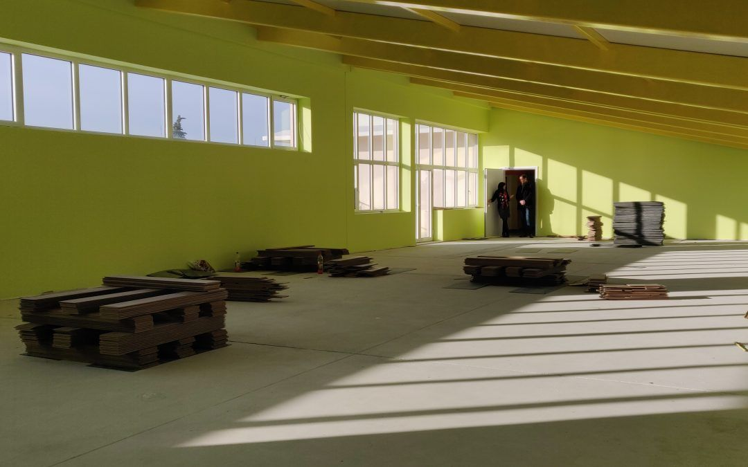 Split: Napreduju radovi u školi na Brdima; pri kraju novi multimedijalni centar i knjižnica