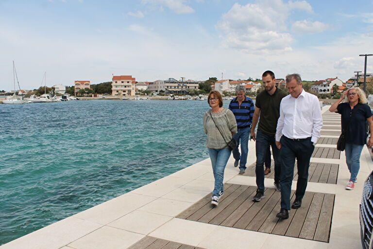 Zadar: Uređuje se ured MO Petrčane, grade se pristupne ceste i parkirališta