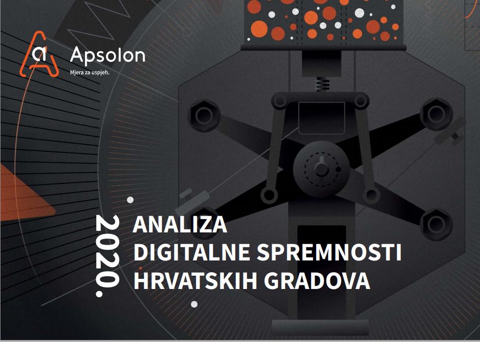 U petak 3. srpnja besplatni webinar na kojem će Apsolon predstaviti svoju novu Analizu digitalne spremnosti  hrvatskih gradova