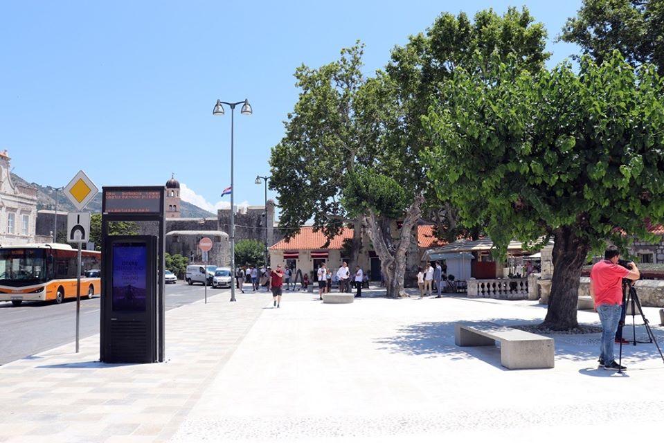 Dubrovnik: Završeno preko milijun kuna vrijedno uređenje platoa Pile