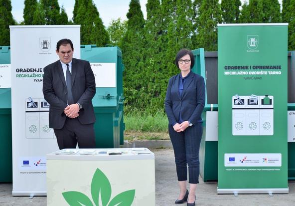 Ivanić-Grad: Otvoreno reciklažno dvorište Tarno vrijedno preko 1,3 milijuna kuna