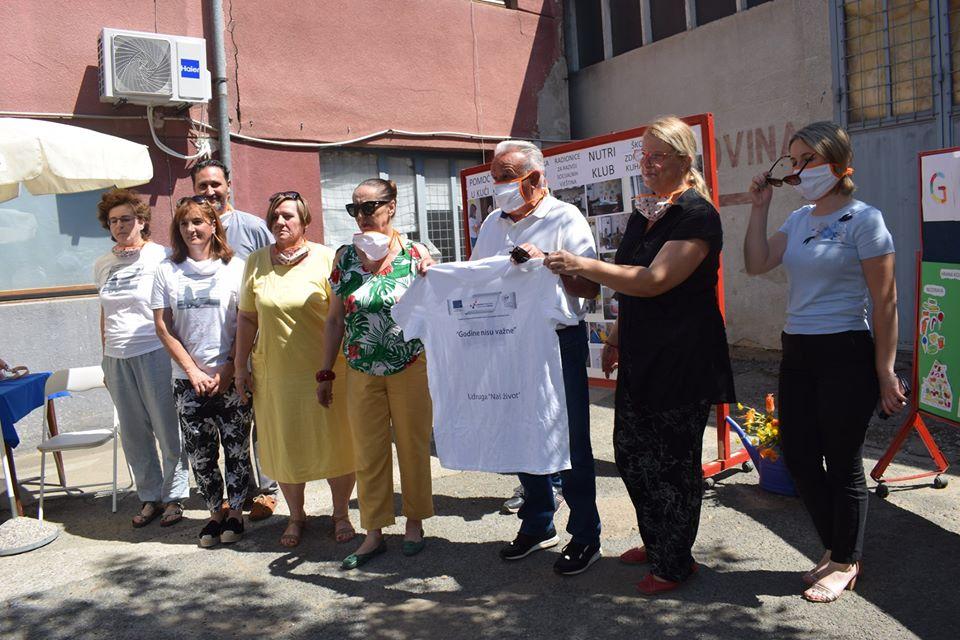 Petrinja: Projektom 'Godine nisu važne' 'pokrenut' će osobe starije životne dobi i one s invaliditetom