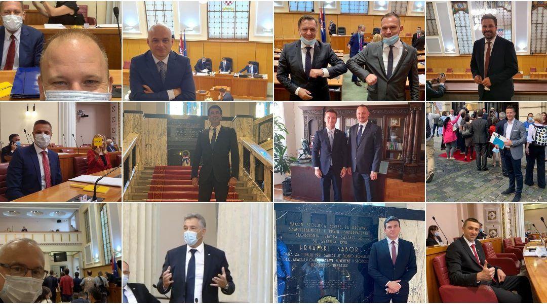 U novom sazivu ipak 18 gradonačelnika – u Sabor ušlo još pet gradonačelnika i prva i jedina gradonačelnica