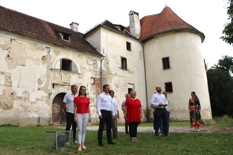 Jastrebarsko: Kreće obnova dvorca Erdody; odobreno 49,5 milijuna kuna bespovratnih sredstava