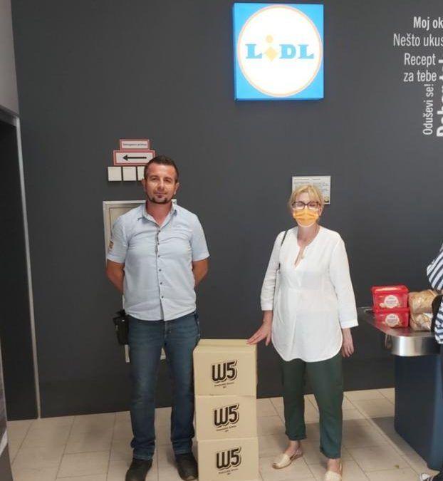 Poreč: Domu za starije i nemoćne trgovački lanac Lidl donirao 3000 zaštitnih rukavica