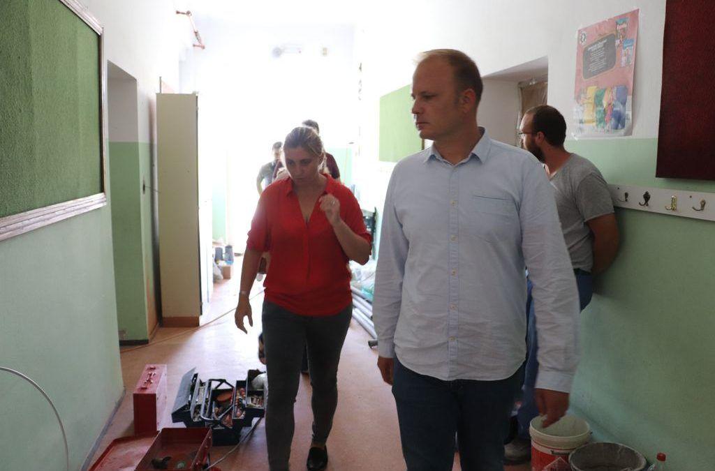 Koprivnica: Gradi se vrtić, energetski obnavlja škola i gradi blagavaonica u Područnoj školi Vinica