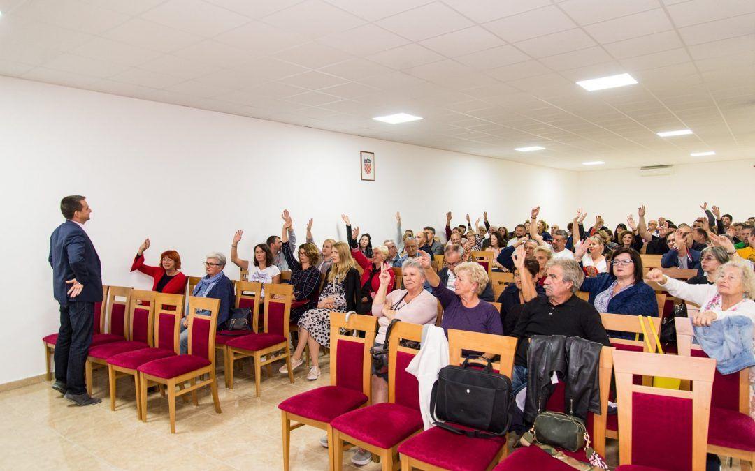 Trogir nastavlja s projektom participativnog budžetiranja: Građani će i ove godine odlučiti o raspodjeli 1,35 milijuna proračunskih kuna