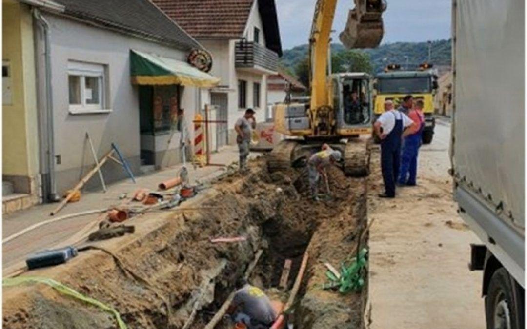 Požega: Napreduju aktivnosti na aglomeraciji gradskog područja, radovi vrijedni preko 90 milijuna kuna