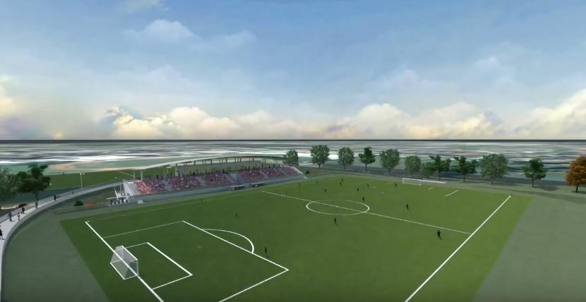 Bjelovar: Odlukom da se novi stadion gradi u fazama uštedjet će se oko 8 milijuna kuna