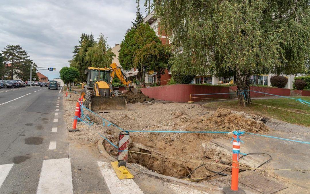 Čazma: Kompletna rekonstrukcija, izmjena vodovoda, kanalizacije i plinskih instalacija u Ulice kralja Tomislava