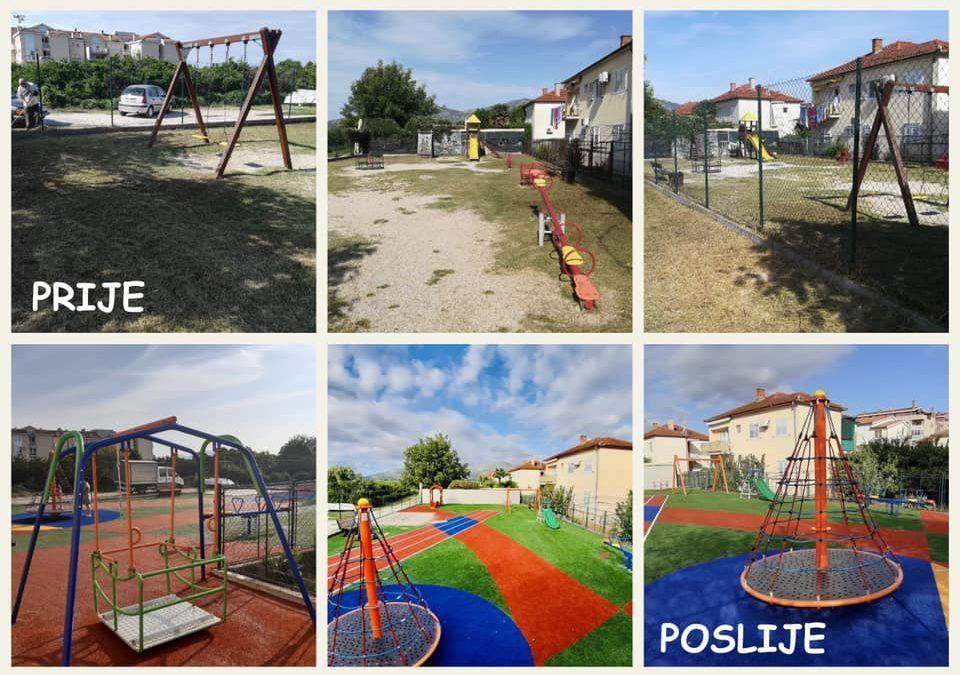 Metković: Završena prva faza obnove kvartovskih igrališta, provodi se i energetska obnova sportskih dvorana, uređuju nogometna igrališta…