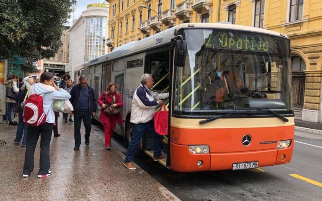 Opatija: Grad subvencionira 60 posto cijene prijevoza redovnim studentima i studenticama