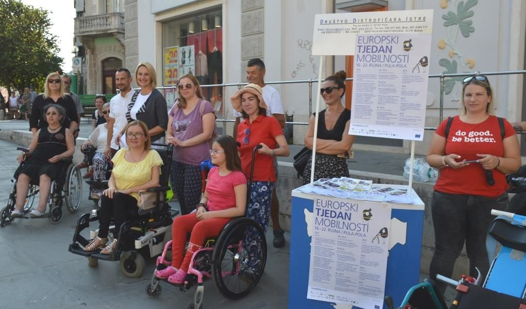 Pula: Europski tjedan mobilnosti obilježen petnaesti put zaredom; cilj je uvesti i promicati vožnju održivim prijevoznim sredstvima