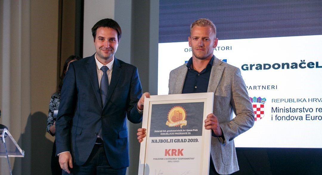 Krk u pohodu na treći naslov najboljeg malog grada u gospodarstvu, u finalu Buzet, Hvar, Mali Lošinj i Novalja