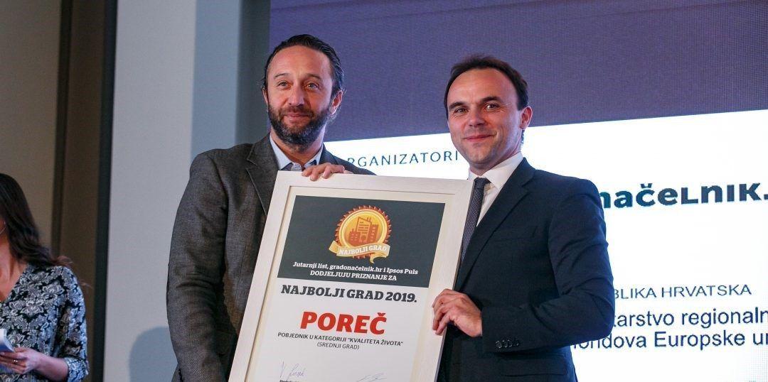 Poreč brani naslov najboljeg grada za život, za petama mu Rovinj, Sveta Nedelja, Umag i Zaprešić