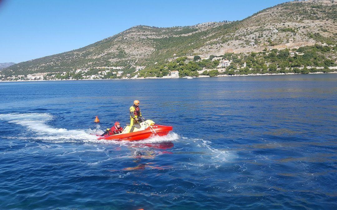 Dubrovnik: Donacijom Grada nabavljen specijalizirani 400.000 kuna vrijedan skuter za spašavanje na moru