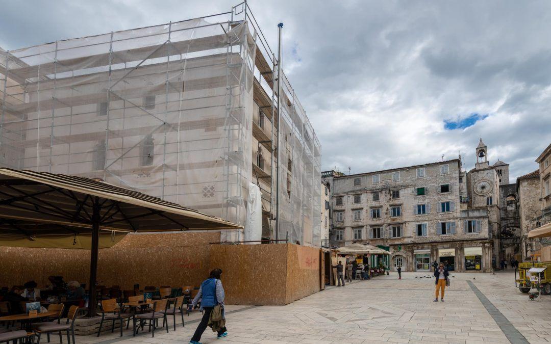 Split: Obnavlja se Stara gradska vijećnica, za projekt osigurano preko 18 milijuna kuna EU sredstava