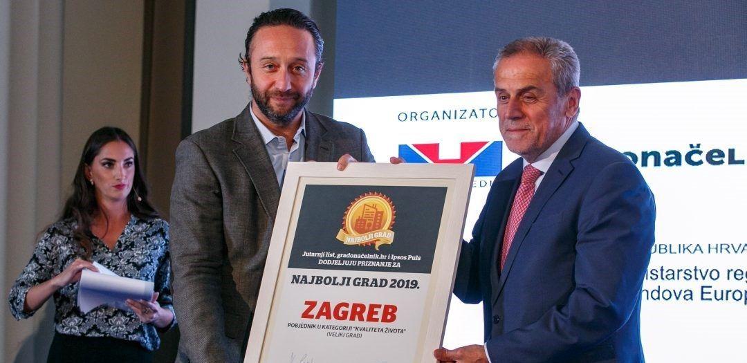 Zagreb brani titulu najboljeg velikog grada za život, u finalu ponovo Čakovec, Dubrovnik, Samobor i Varaždin