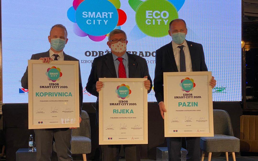 Pazin, Koprivnica i Rijeka 'najpametniji' su gradovi u zemlji, Križevci najbolji Eco-city grad