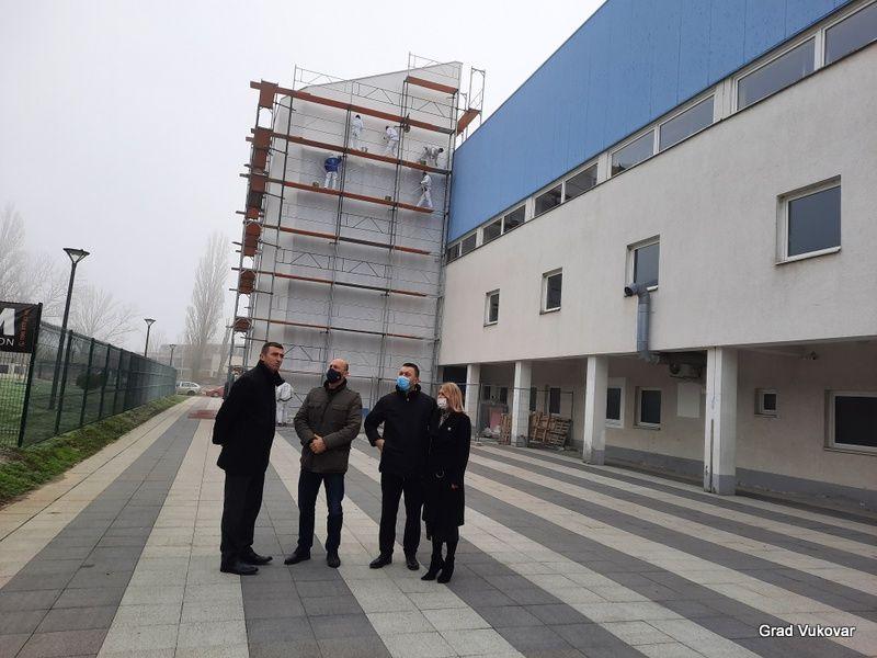 Vukovar: Obnavlja se Sportska dvorana u Borovu naselju