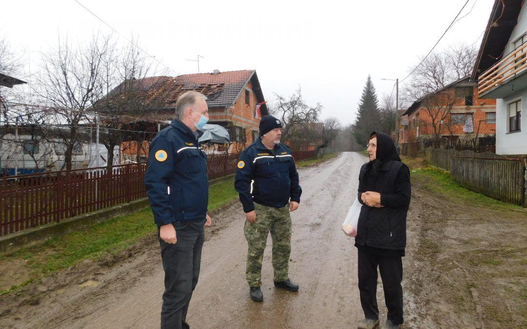 Kutina: Gradonačelnik obišao stradala područja, oštećena  i zgrada Pučkog otvorenog učilišta