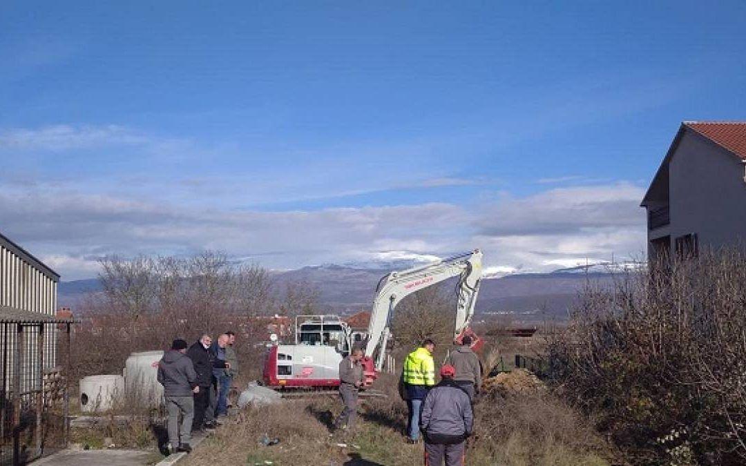 Trilj: Počeli građevinski radovi na projektu Aglomeracije, priključke na kanalizacijski sustav dobit će 880 domaćinstava