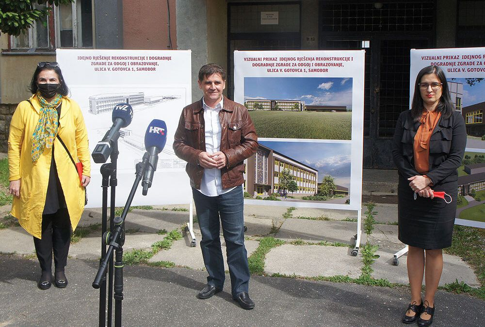 Samobor: Odobren projekt, u bivšoj vojarni izgradit će se nova osnovna škola za više od 560 učenika